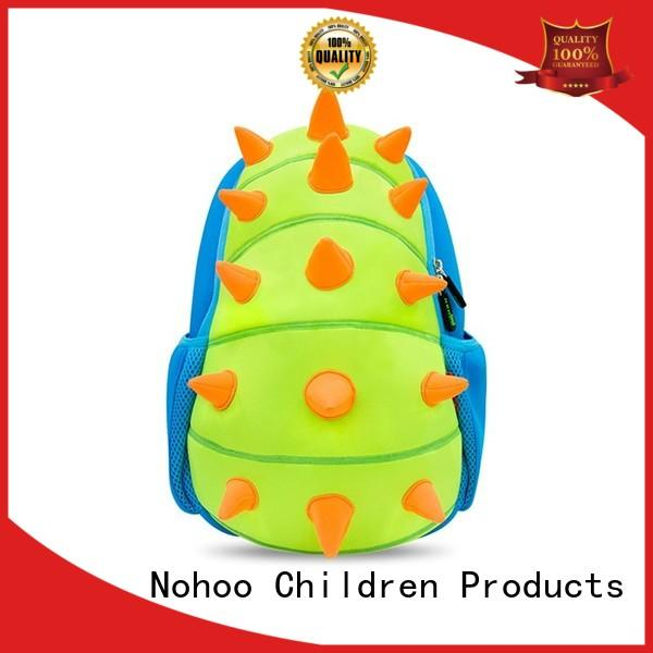 NOHOO unisex kids trolley bag customized for camping