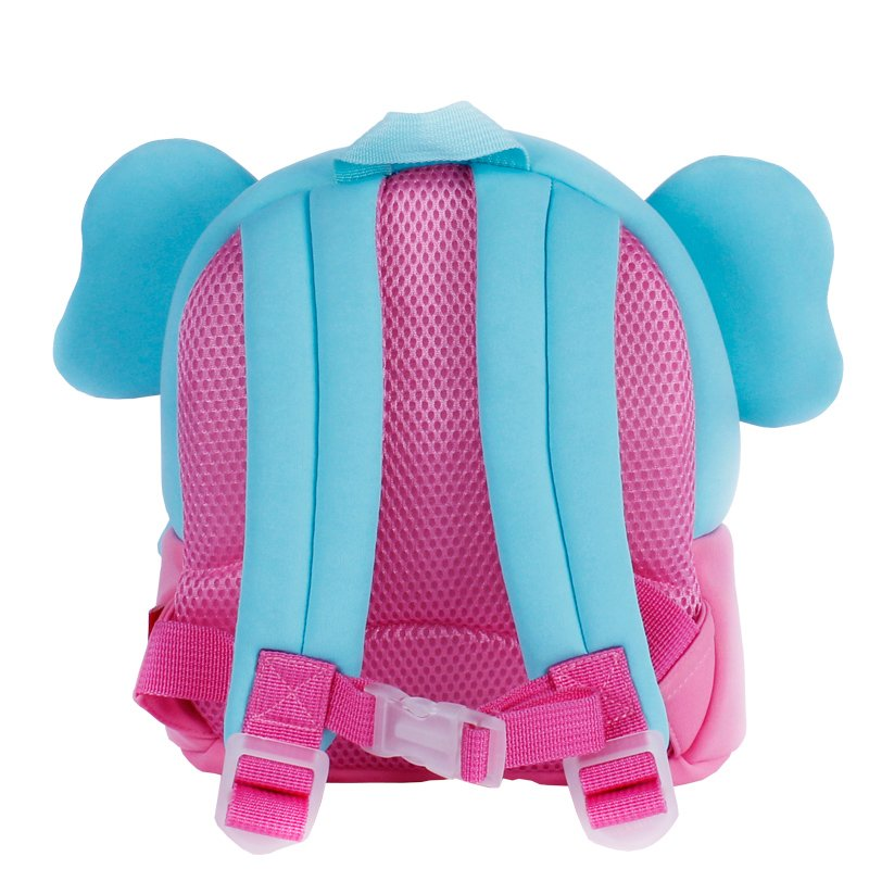 Nohoo Children Products-Personalized Toddler Backpack, Nh058 New Arrival Elephant Cute Neoprene-1