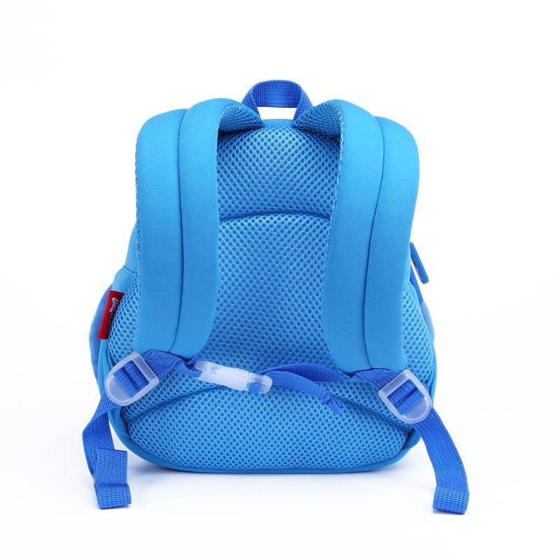 NH065  Penguin Little Kids School Bag lightweight plush Toddler Backpack warm hand