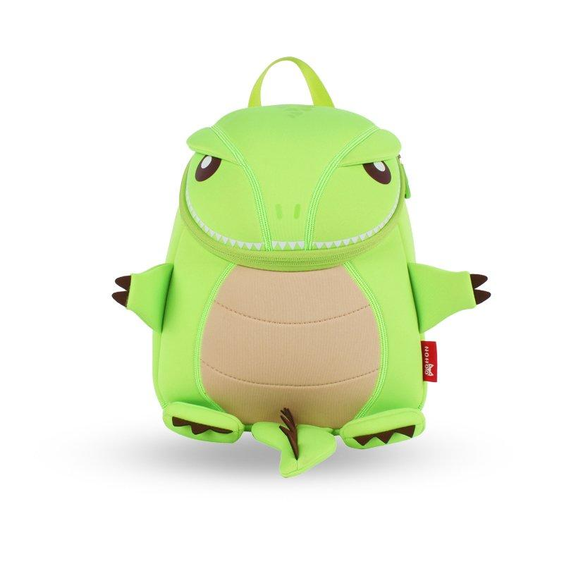 NH029 Tyrannosaurus animal cartoon travel backpack for girls and boys