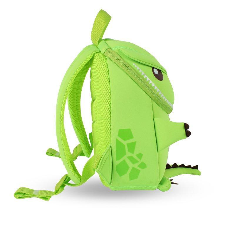 NH029 Tyrannosaurus animal cartoon travel backpack for girls and boys