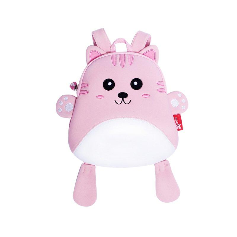 NH055 Comfortable light neoprene lovely cat animal mini bag for baby