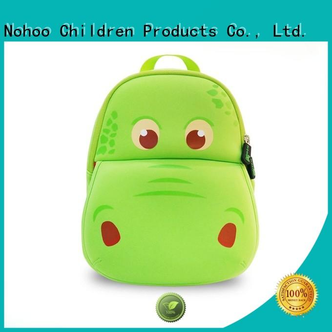 Nohoo Children Products Brand zoo nh027 customized herschel kids backpack manufacture