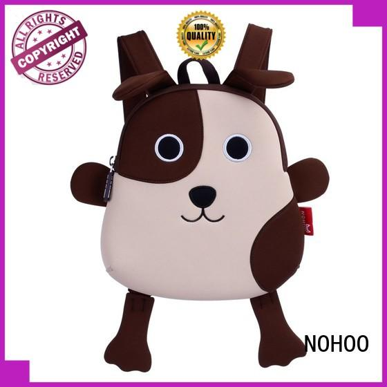 NOHOO brand cool toddler backpacks personalized for hiking
