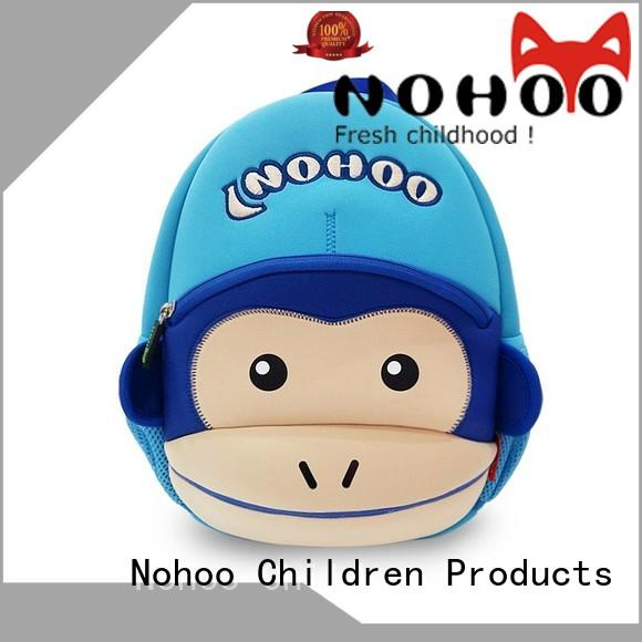 NOHOO lion personalised kids backpack from China for kids