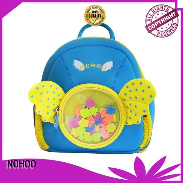NOHOO camping animal backpacks for toddlers factory price for outdoor