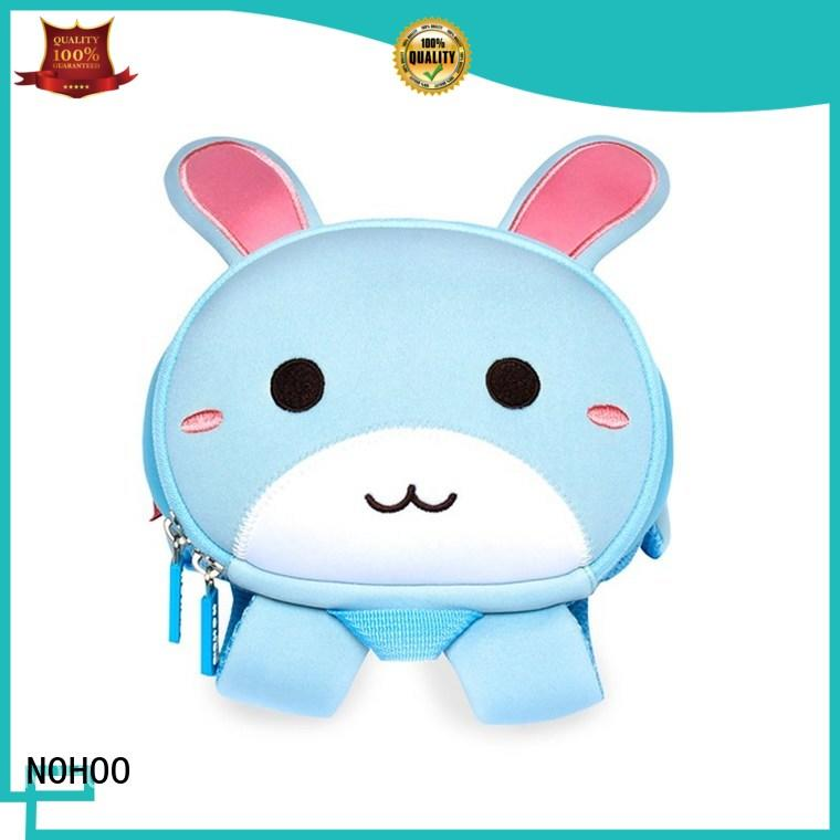 NOHOO style toddler rolling backpack wholesale for outdoor