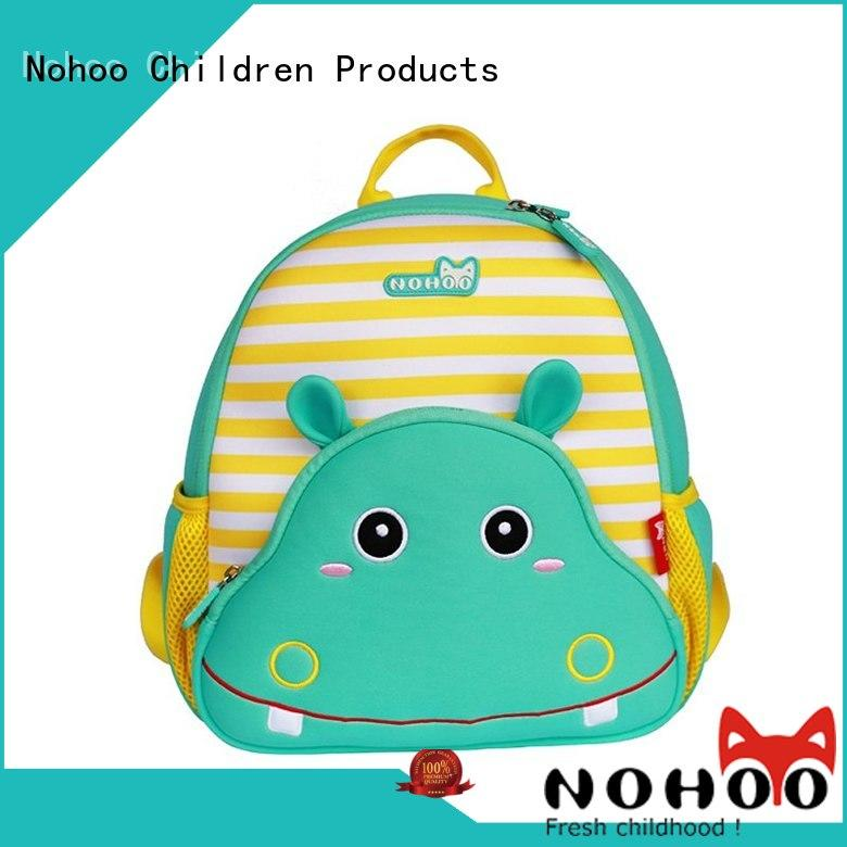 NOHOO 3d printing personalised kids backpack from China for kids