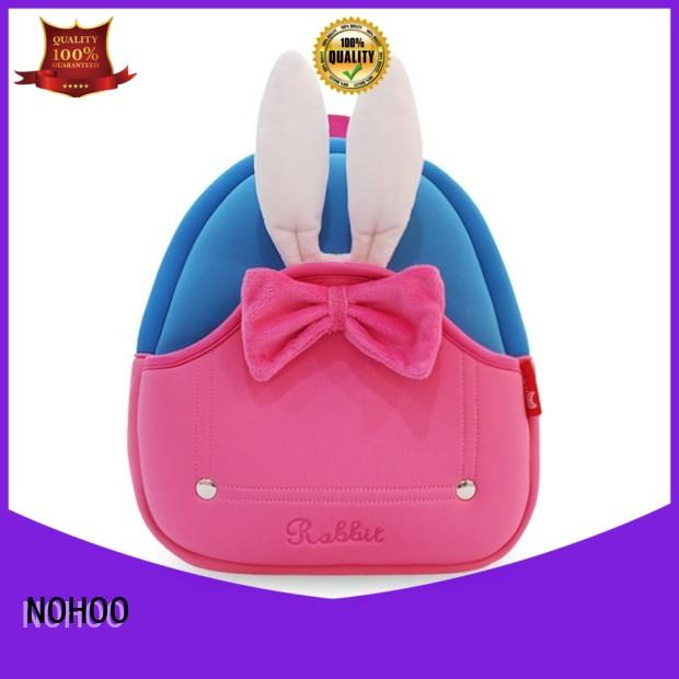 NOHOO design cool toddler backpacks factory price for primary students