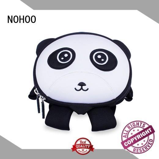 NOHOO carton girls preschool backpack wholesale for outdoor