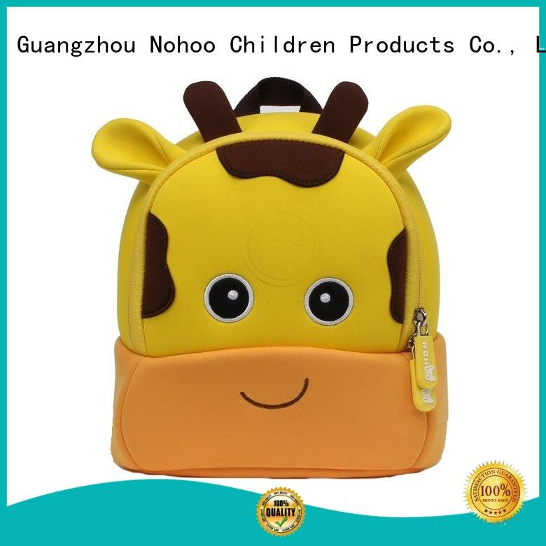 cat boys frog OEM toddler boy backpack Nohoo Children Products