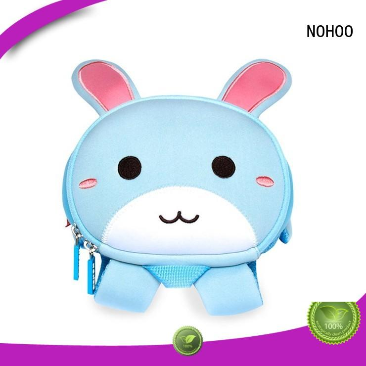 NOHOO animal personalised toddler backpack supplier for school