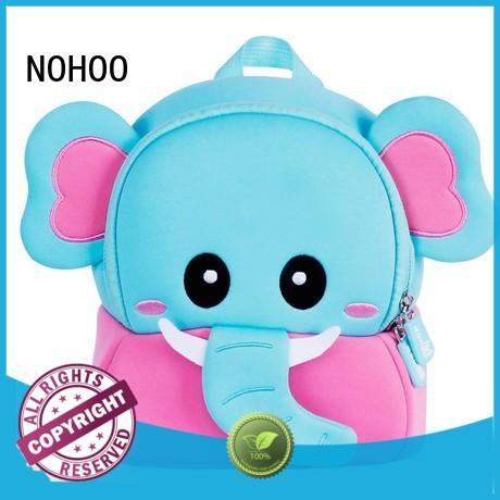 NOHOO comfortable customized toddler backpacks factory price for outdoor