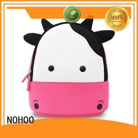 NOHOO cartoon preschool backpack for girls wholesale for primary students