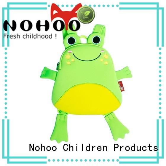 NOHOO style panda baby bag wholesale for school