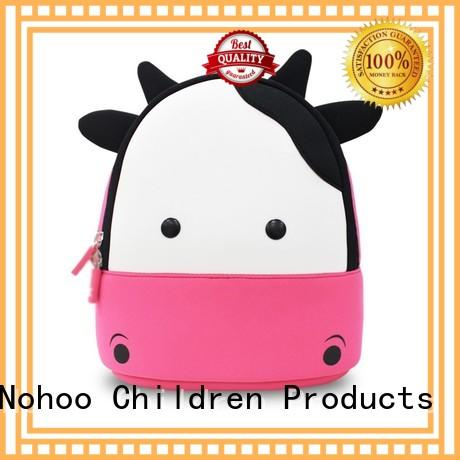 NOHOO cartoon toddler rolling backpack wholesale for primary students
