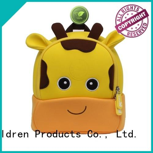 Nohoo Children Products Brand bee hiking design cartoon toddler boy backpack