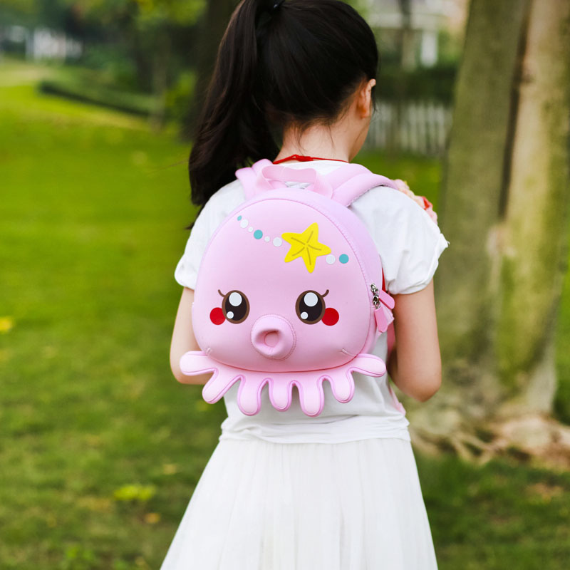 Nohoo Children Products-New Arrival Lovely Cartoon Children School Bag Backpack-4