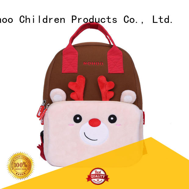 pink american made backpacks with good price for school Nohoo Children Products