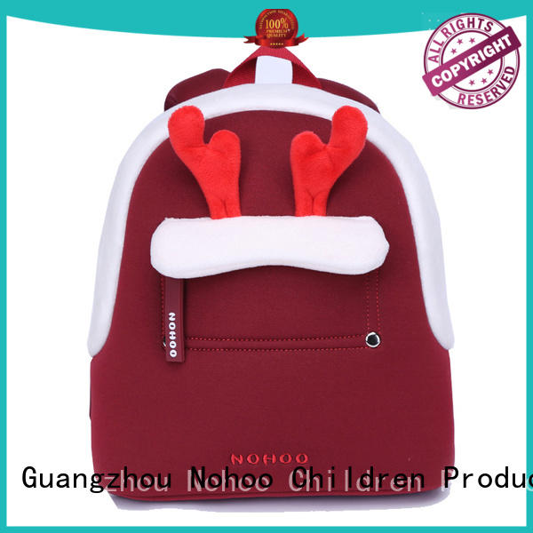 NOHOO rabbit cute baby bags design for kids