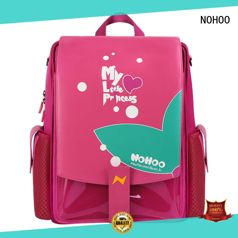 NOHOO reliable canvas children school bag supplier for kindergarten