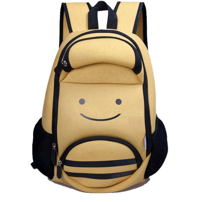 NH001 Ultra lightweight kids backpack animal bee preschool children bag