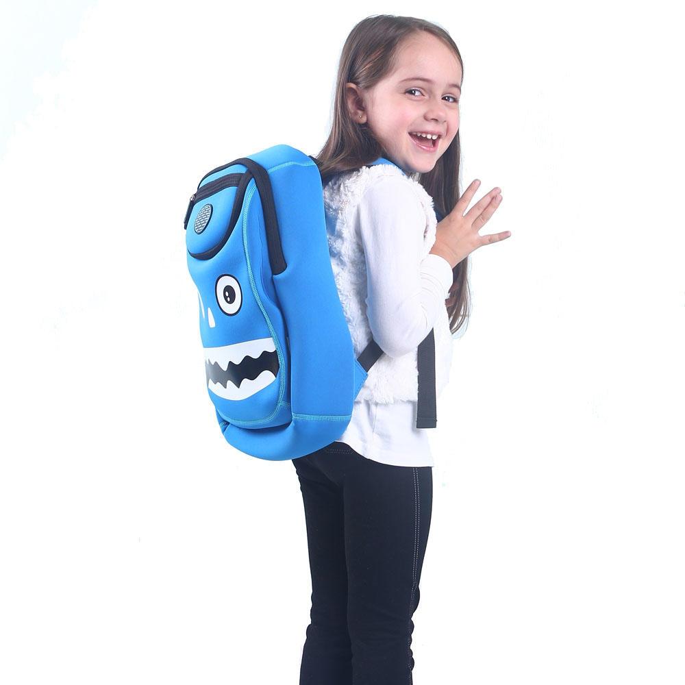 NH006 NOHOO factory cartoon school outdoor kids bag with waterproof material