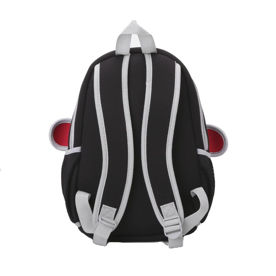 NH011 Penguin style Neoprene Backpack Kids 3D Cartoon School bag for boys and girls