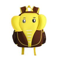 NH012 Elephant style waterproof kids cute neoprene children school bag