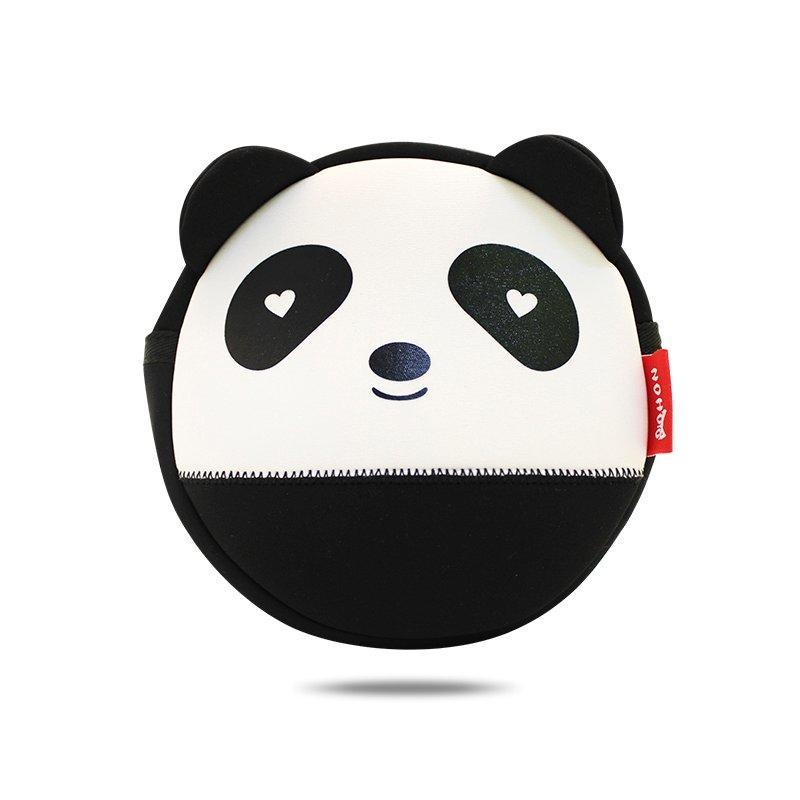 NHK003 High Quality Unisex 3D Panda baby bag neoprene messenger bag for kids