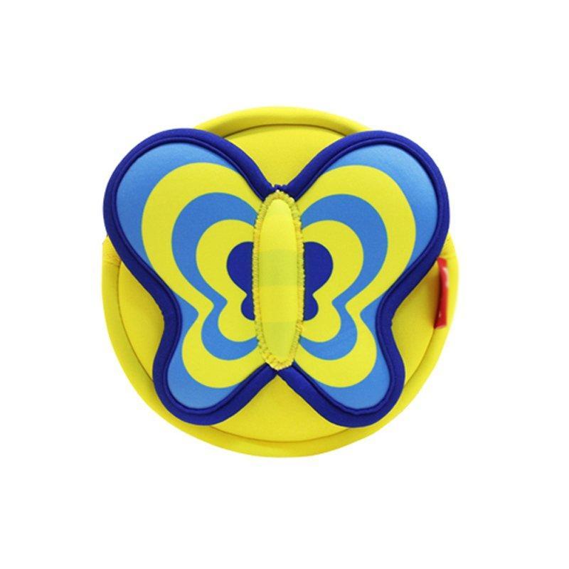 NHK004 Lovely Butterfly Cartoon lightweight Kids Messenger Bag For Girls