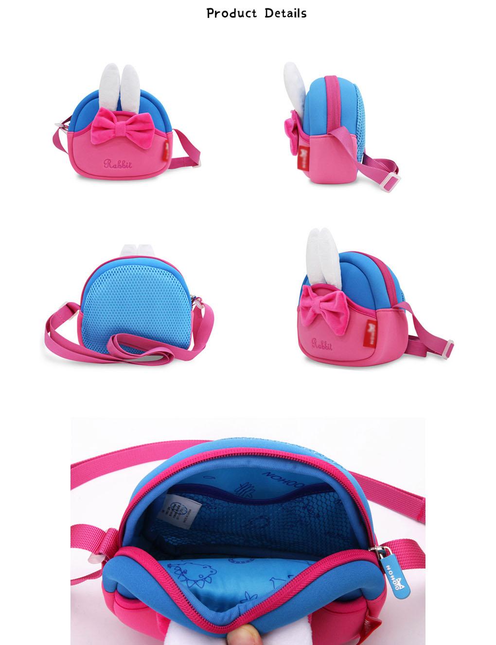 Nohoo Children Products-Neoprene Lightweight Eco-friendly Kids Messenger Bag For Little Girls