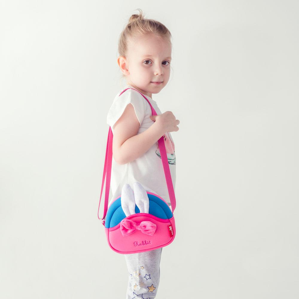 Nohoo Children Products-Neoprene Lightweight Eco-friendly Kids Messenger Bag For Little Girls-1