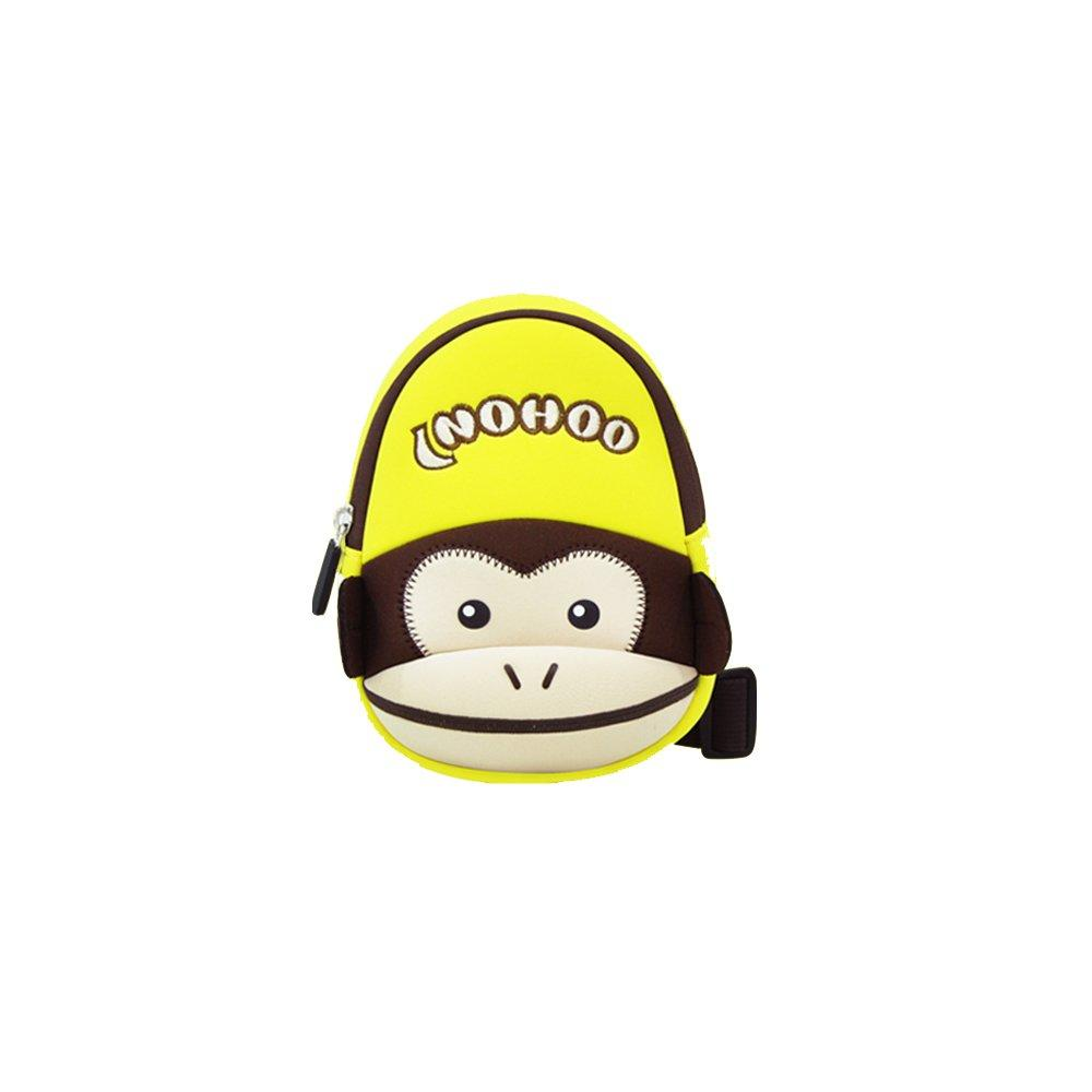 NHX001 Kids Neoprene Waterproof Cute Animal Monkey Style lightweight Chest Bag