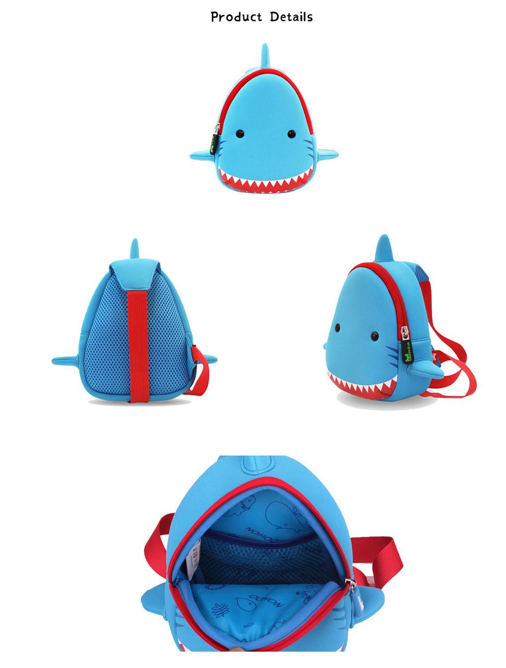 Nohoo Children Products-Ultralight Durable Outdoor Animal Bag Mini Chest Bag For Kindergarten
