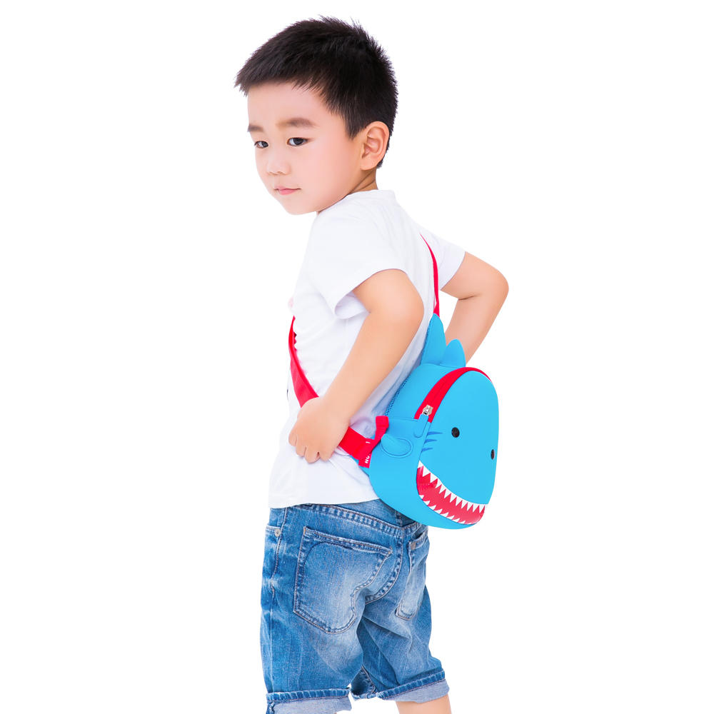 Custom children animal kids sling backpack Nohoo Children Products ultralight