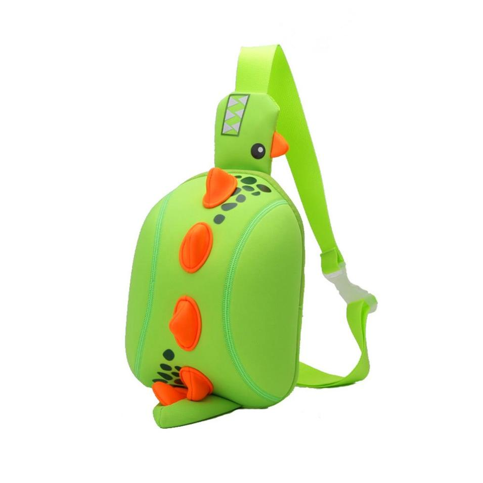NHX003 Dinosaur cartoon kids backpack manufacturers children Animal chest bag