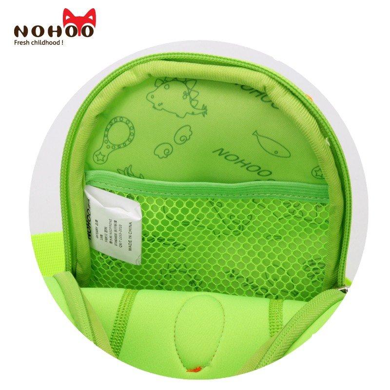 Nohoo Children Products-Dinosaur Cartoon Kids Backpack Manufacturers Children Animal Chest Bag-2