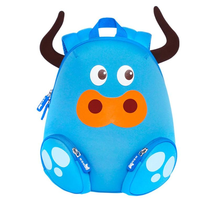 NH045 cattle animal children backpack camping Bags for small kids.