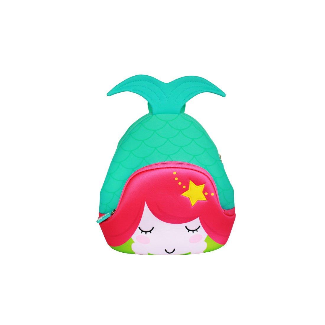 NH046 Mermaid fashion children neoprene pre-school backpack for girls.