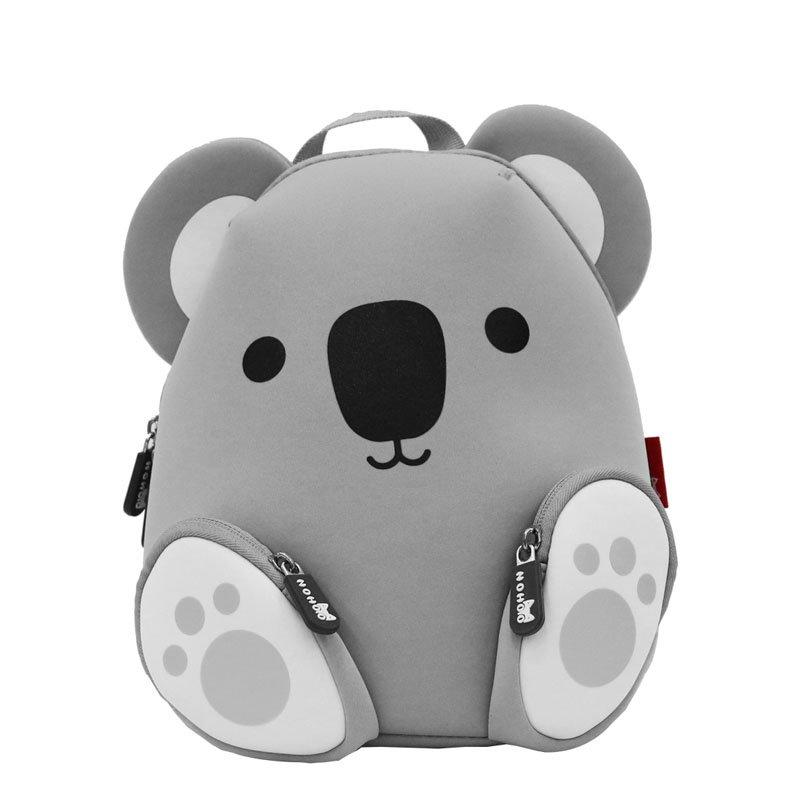 NH044A Koala Neoprene Animal Children Bag Boys Girls Toddlers Daily Backpack