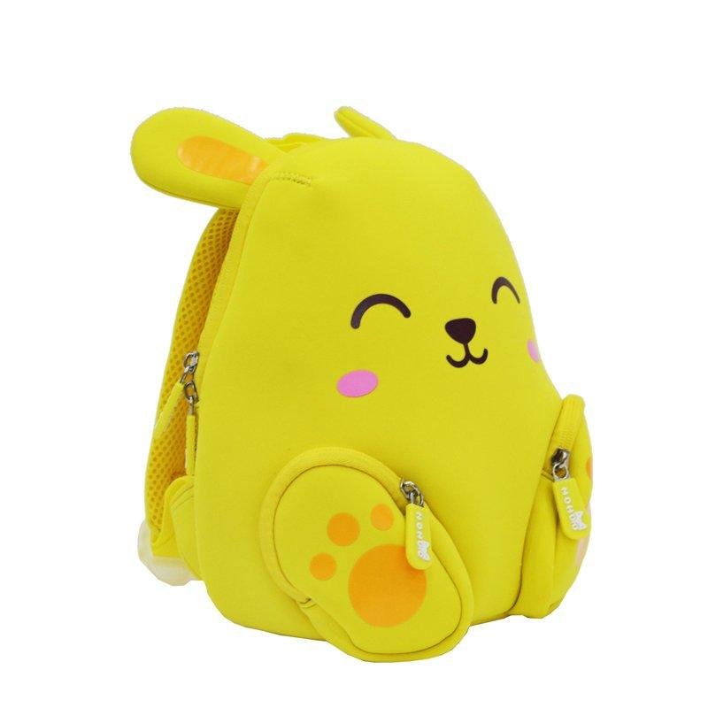 NH044B Animal cartoon Double Shoulder children school backpack for kids