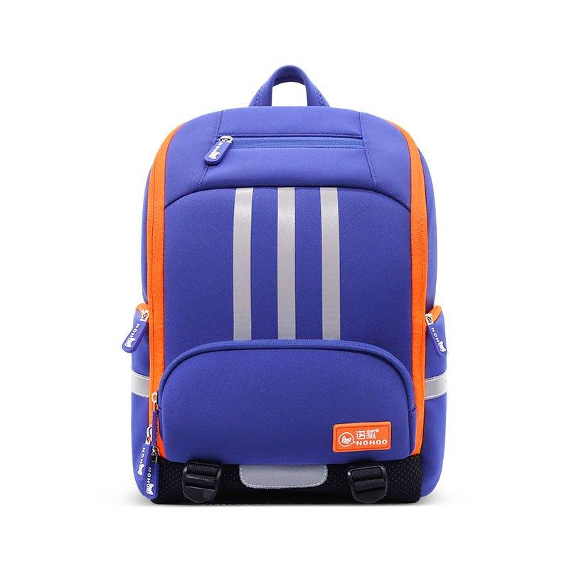NH038 eco-friendly large capacity student school backpack with reflector