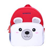 NHQ004 NOHOO Popular Cute Outdoor plush camping and travelling Bag family bag
