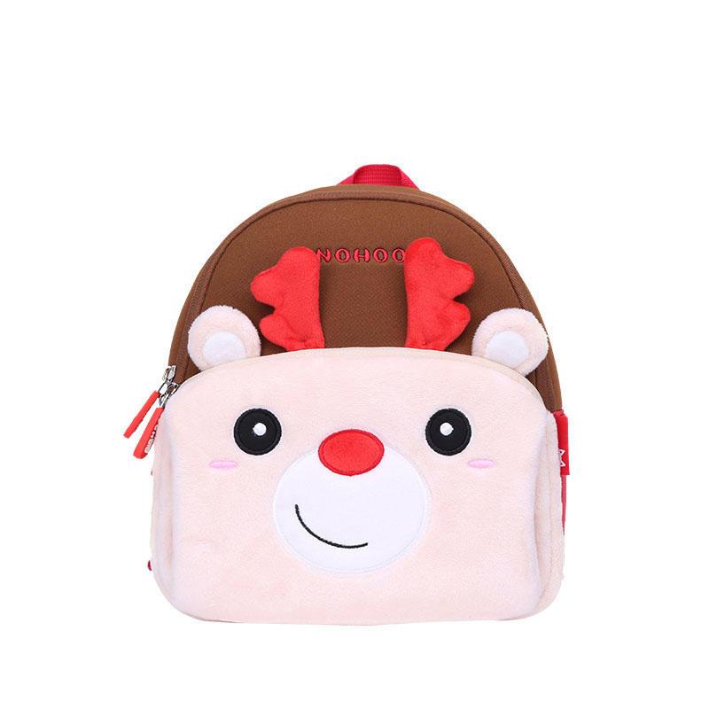 NHQ006 Customized Fashion children Functional Waterproof deer animal Backpack