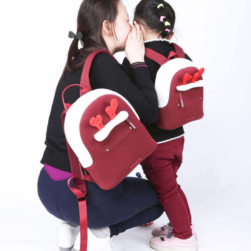 NHQ009 Manufacturer direct selling parent-child travelling backpack family leisure bag