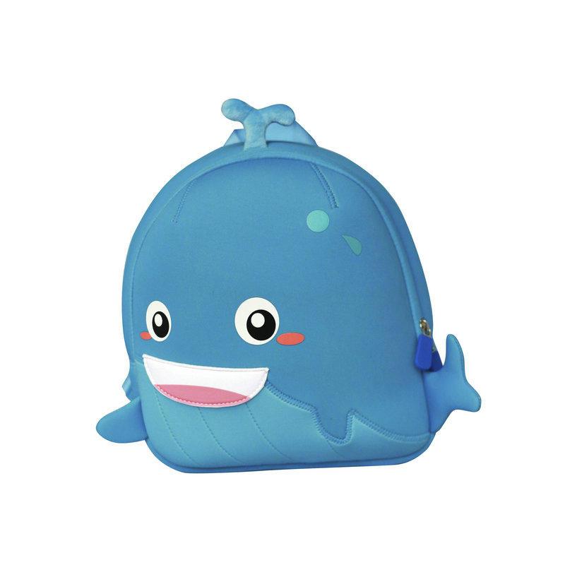 TQ2002 Manufacturer China neoprene children bag lovely whale backpack for boys