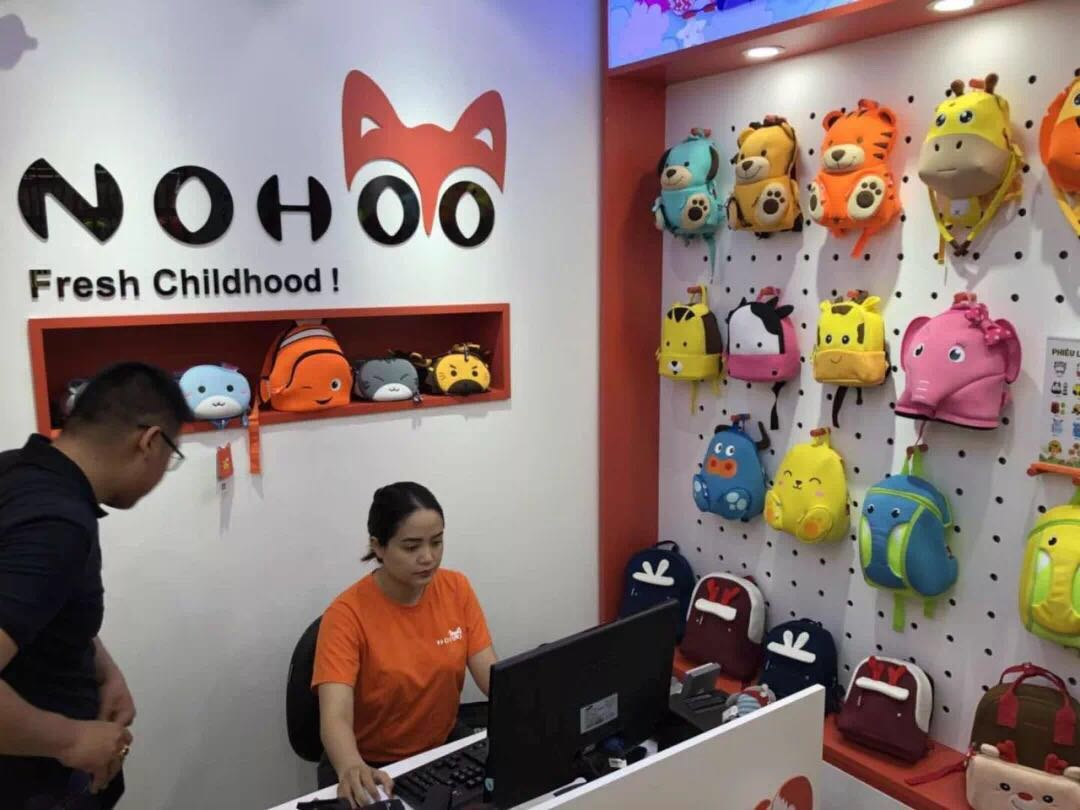 Nohoo Children Products-Vietnams first unique NOHOO backpack franchise store opened