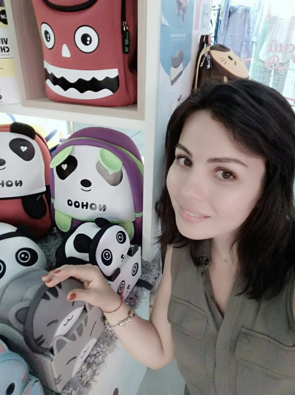 Nohoo Children Products-NOHOO funny children backpack made a new career for the Ukrainian beauty-1