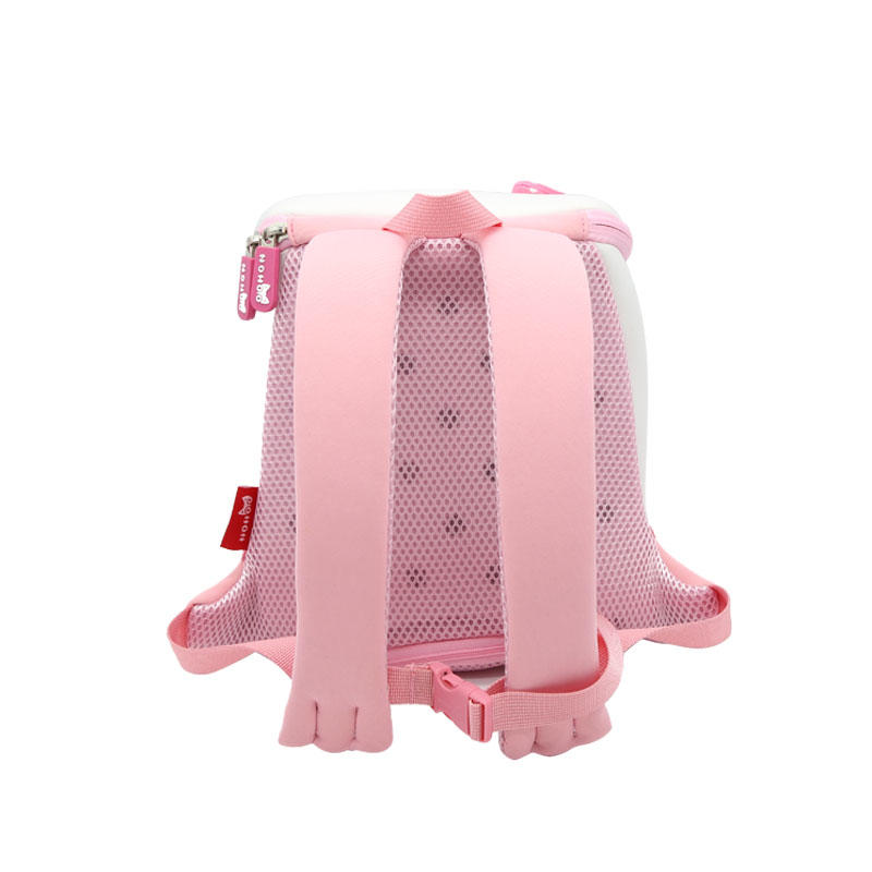 NOHOO Factory Wholesale neoprene lightweight Animal zoo backpack NHB101M for girls